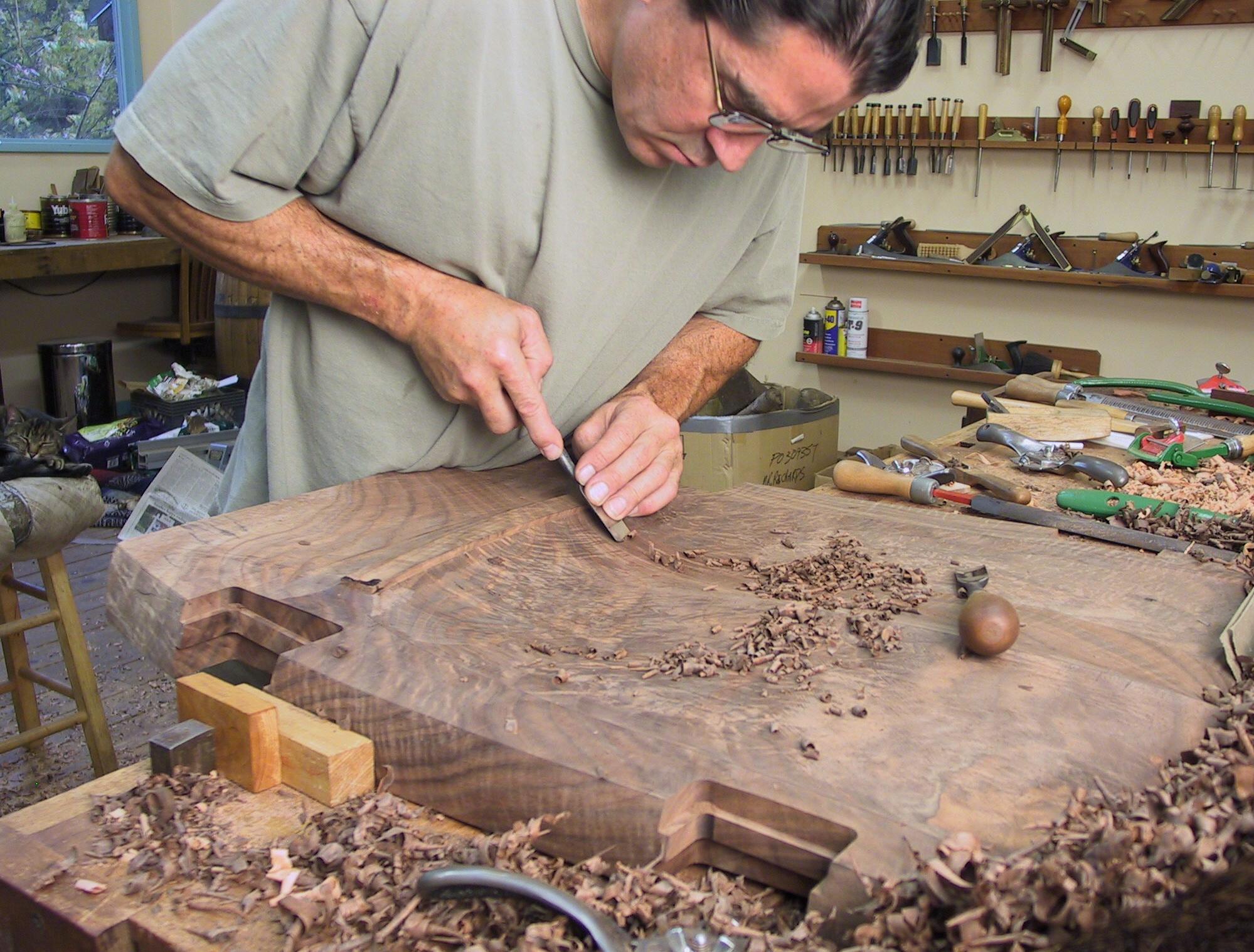 Wood Art Furniture ~ The art of creating fine wood furniture sparkfire inc